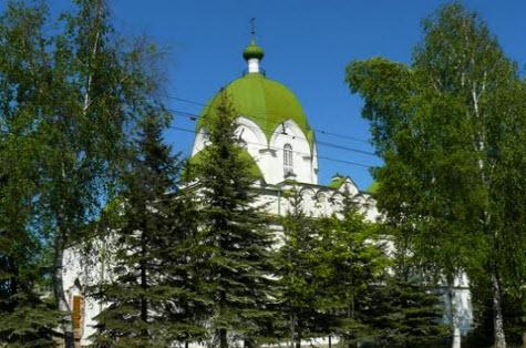 Сретенская церковь, Рыбинск, трасса р104