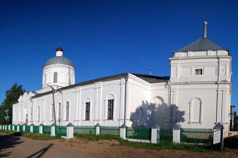 Церковь Дмитрия СОЛУНСКОГО, Дмтровский погост, трасса р106