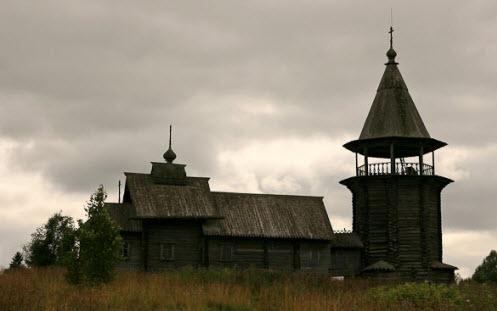 Церковь Ильи пророка, Поля, трасса р17