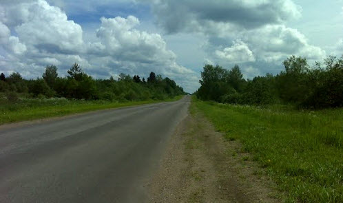 дорога Р8, маршрут Устюжна - Валдай