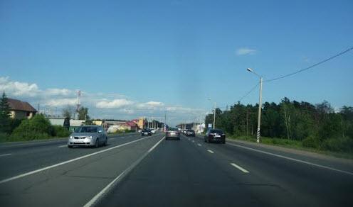 трасса М7, Горьковское шоссе