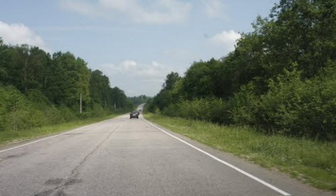 трасса р104, маршрут Сергиев Посад - Калязин
