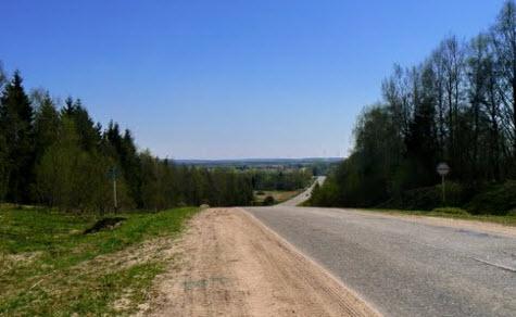 трасса р136, маршрут Смоленск - Нелидово