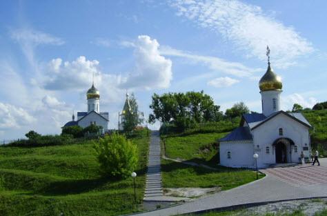 Холковский монастырь, трасса р188
