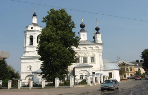 Церковь Покрова на Рву, Калуга, трасса р93