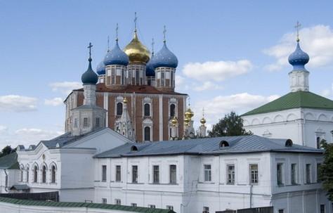 рязанский кремль, трасса р126