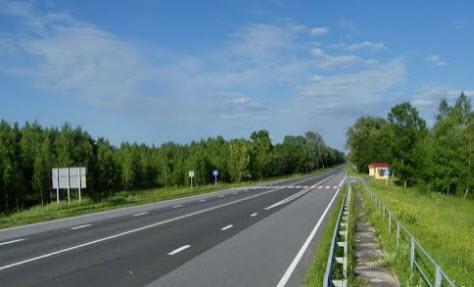трасса Киев - Москва, поездка в Киев