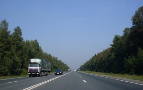 трасса М3, поездка в Киев