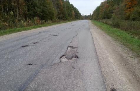 трасса Р139, качество дорожного покрытия