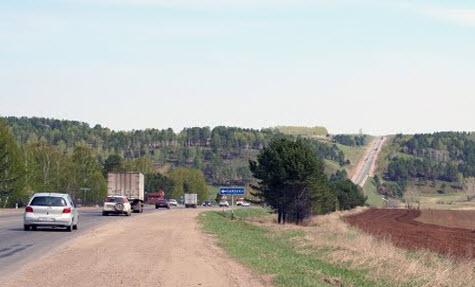 трасса Р418, Качугский тракт