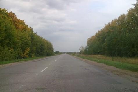 трасса р126, дорога на Ряжск