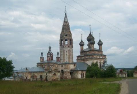 храмовый комплекс, Парское, трасса р71