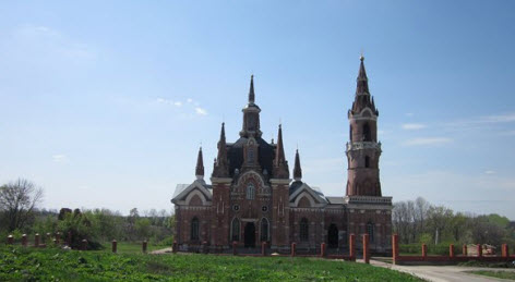 Знаменская церковь, вешаловка трасса р205