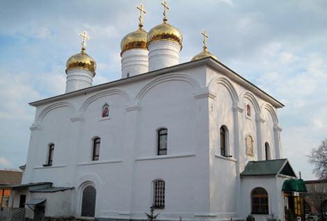 Троицкий монастырь, Лебедянь, трасса р205