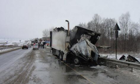 Авария на трассе М5 под Сызранью