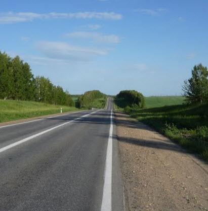 маршрут Липецк - Данков, трасса р205