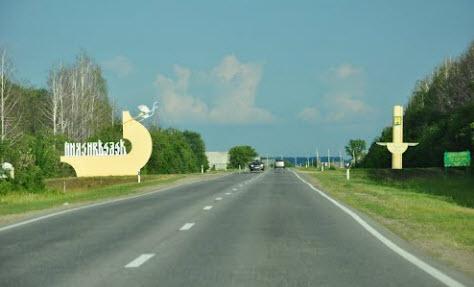 трасса р205, граница районов, лебедянское шоссе