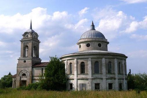Ильинская церковь, Жемчужниково трасса р148
