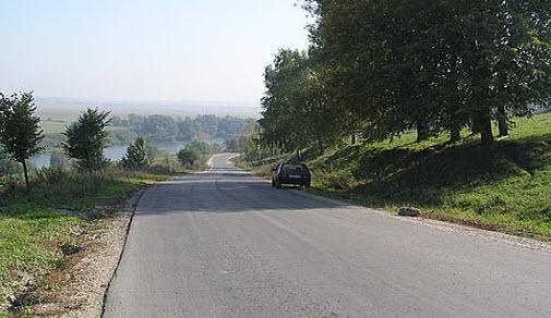 Трасса р146 возле Чекалина