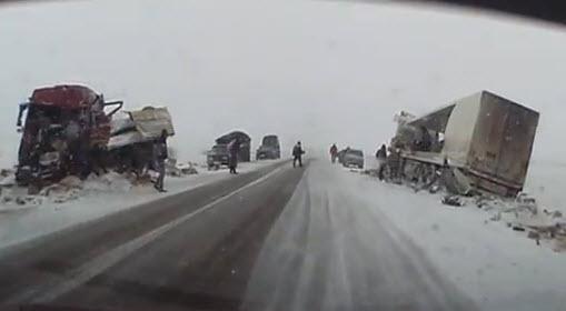 авария на трассе Курган - Челябинск