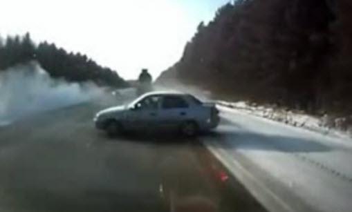 Ужасная  авария на трассе Екатеринбург — Реж