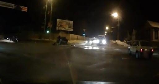 Авария с выбросом двух человек
