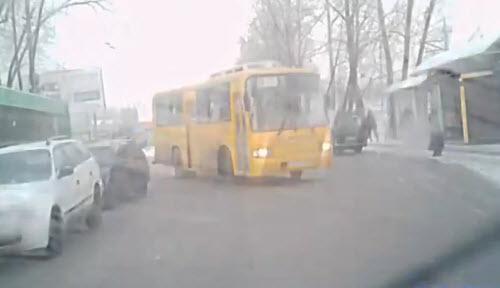 автобус, улица, везение