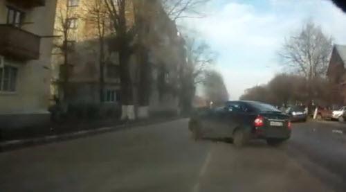 Сумасшедшие пешеходы и реакция водителей
