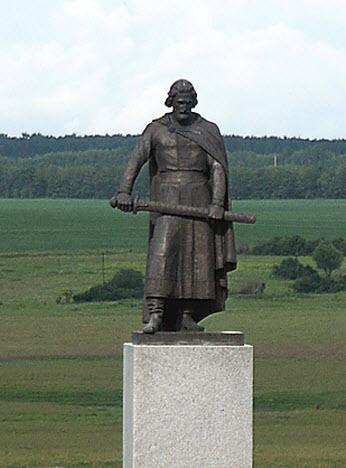 памятник Дмитрию Донскому Куликово поле