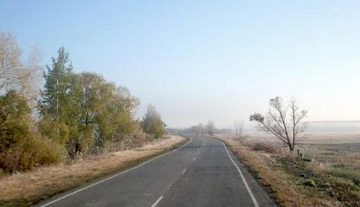 трасса р235, дорога р235