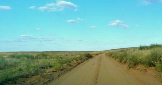 степная дорога в сарай-бату