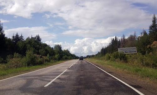 трасса р87 маршрут ржев - осташков