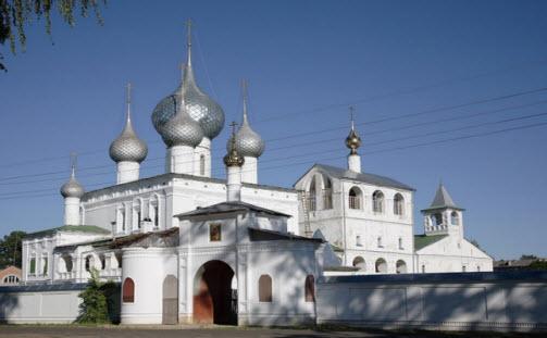 воскресенский монастырь углич маршрут выходного дня
