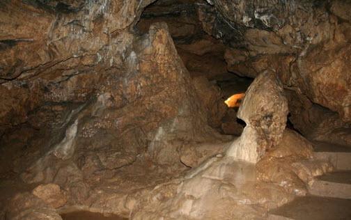 красная пещера крым