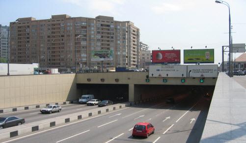 тоннель москва
