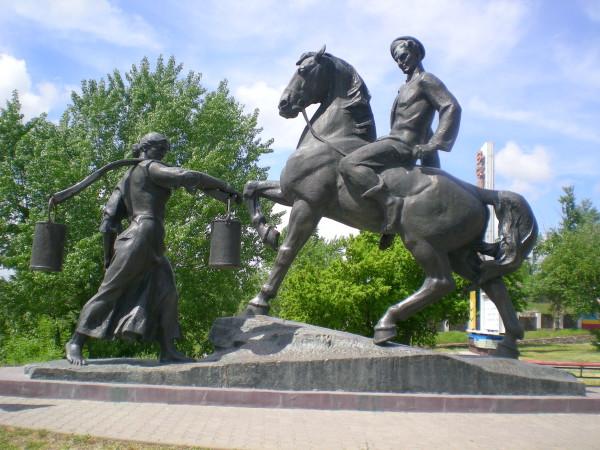 памятник, вешенская, дон