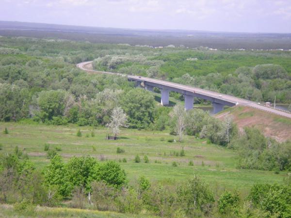 трасса р271, мост через реку дон