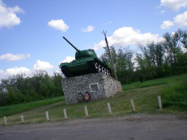 танк т 34 дорога р271