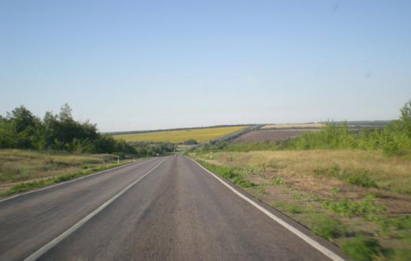 дорога Казанская - Тихая Журавка - трасса м4