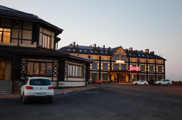 Отель Родина 3* на трассе Дон маршрут на Черное море