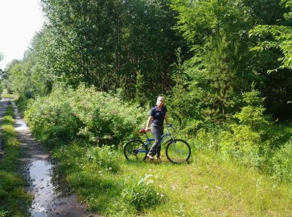 Велосипедная поездка по Чернявскому лесу