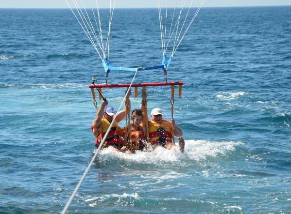 черное море парашют