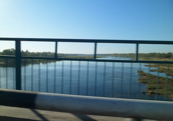 река ахтуба, мост