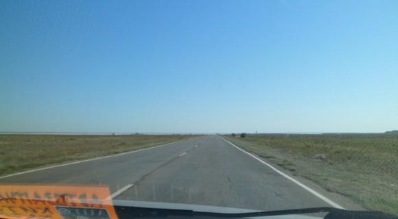 дорога на верхний Баскунчак