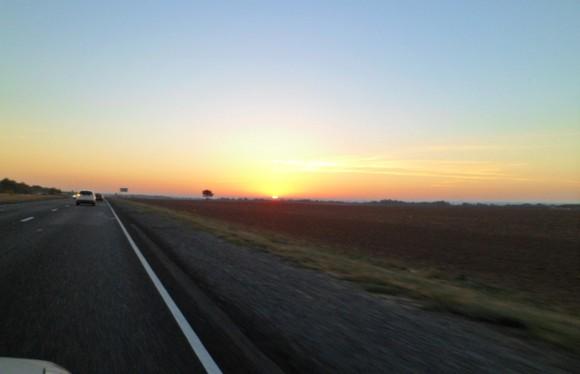 солнце встает трасса м21