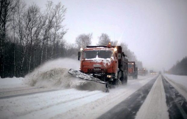 трасса м5 снегоуборщик