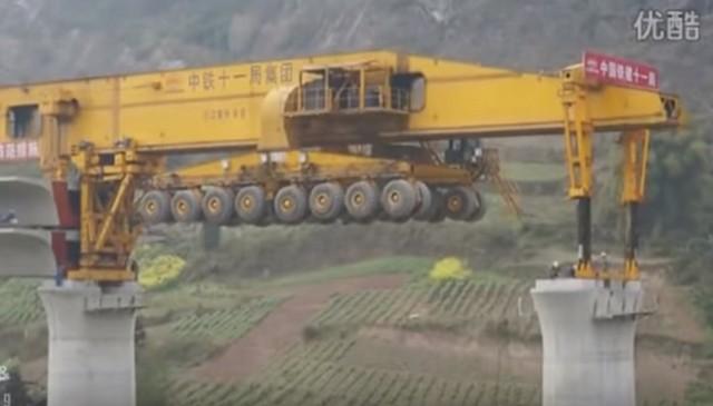 строительство моста в китае