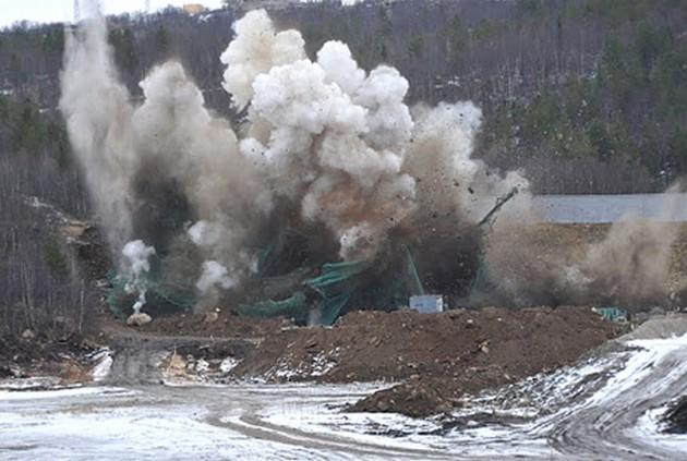 взрывные работы на трассах мурманской области