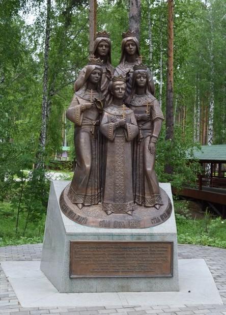 памятник царской семье ганина яма