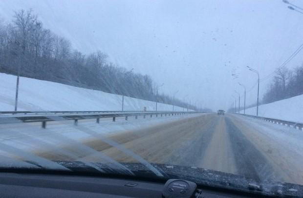 дорога м4 дон 430 км до москвы